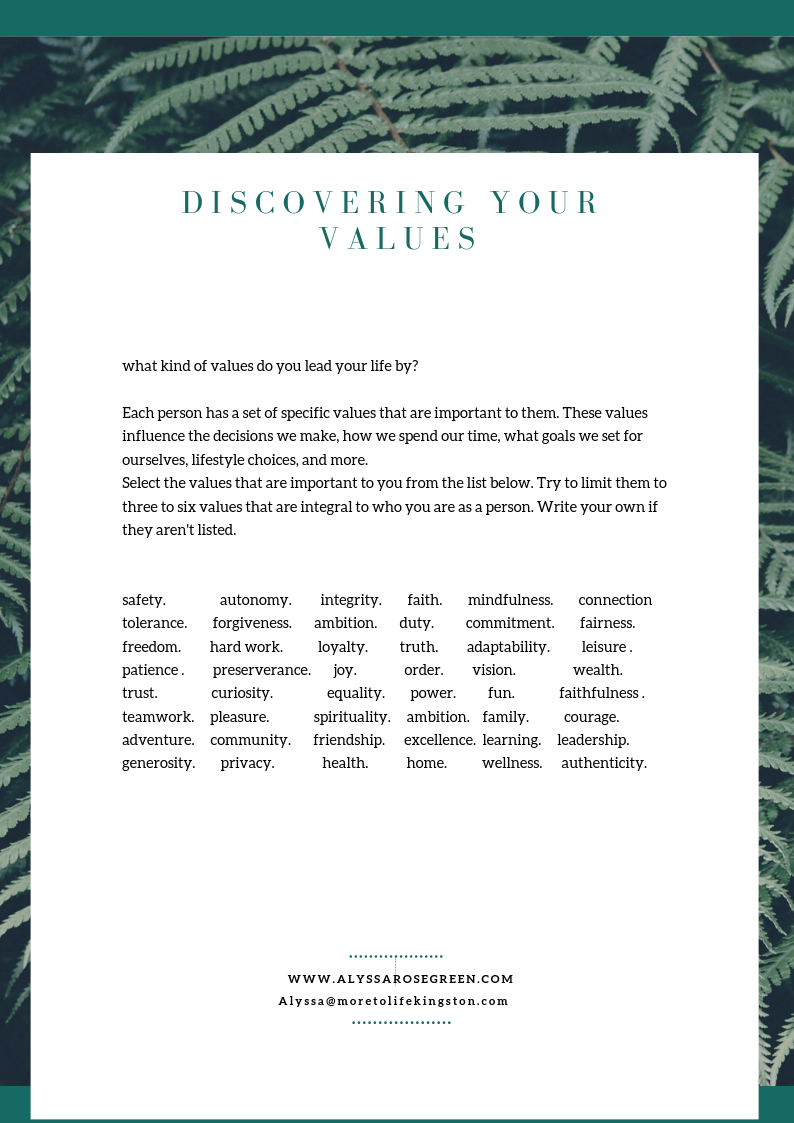 discovering your values teaser image